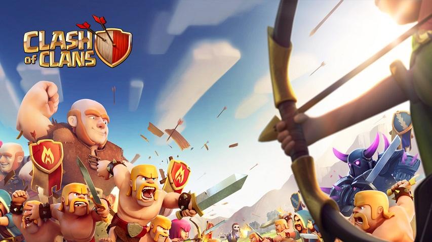 Share acc Clash of Clans cực vip miễn phí